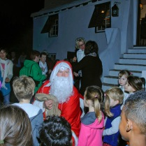 F Christmas with children